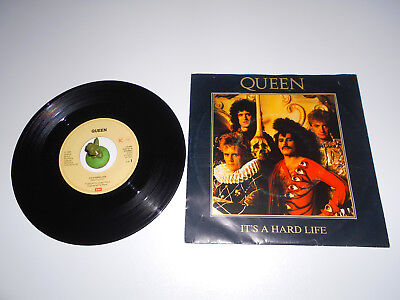 Queen - It´s a Hard Life (1984) Vinyl 7` inch Single Vg +