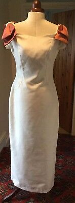 VINTAGE 1980's IVORY WEDDING DRESS BY SAMANTHA JANE COLLECTION