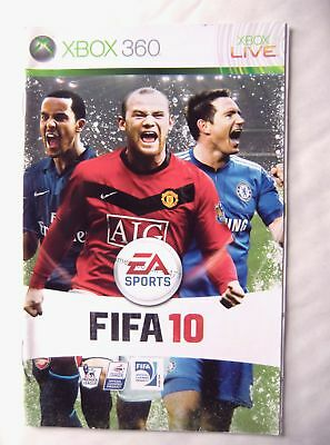 54710 Instruction Booklet - FIFA 10 - Microsoft Xbox 360 (2009)
