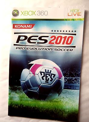 55078 Instruction Booklet - Pro Evolution Soccer 2010 - Microsoft Xbox 360 (2009