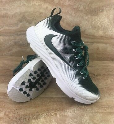 Nike Vapor Speed Turf Football Lax Training Cleat Shoes White Green