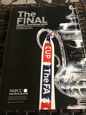 Arsenal V Manchester Utd FA Cup Final 21st May 2005