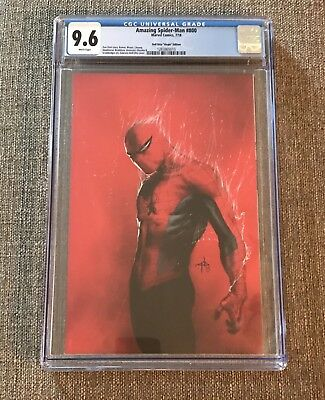 Amazing Spiderman #800 Dell Otto Virgin CGC 9.6