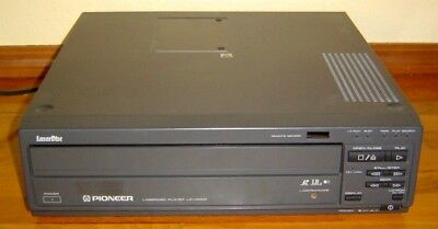 Vintage Pioneer Ld-v4400 Laser Disc Player Tested