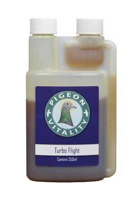 Pigeon Product - Turbo Flight 250ml  - increase race speed - by Pigeon Vitality