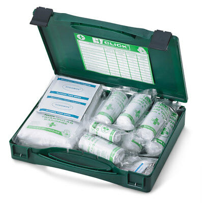 Medical 10-Piece First Aid Kit CASE BOXED by UK Business Supplies {CM0010}