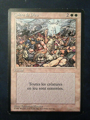 MTG - Colere de Dieu / Wrath of God - Rare - 3e FBB - NM - VF