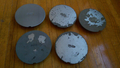 Saab 9000 900 center caps - one lot of FIVE 4425450