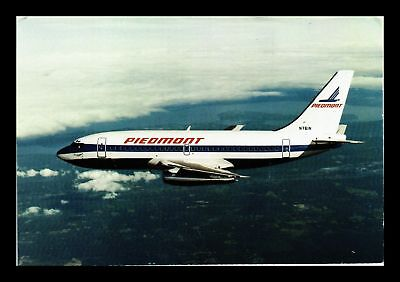 Dr Jim Stamps Us Piedmont Airlines Boeing 737 Airplane Continental Size Postcard