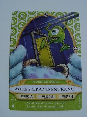 Disneys Sorcerers of the Magic Kingdom SOTMK card 31 / 70 MIKE'S GRAND ENTRANCE