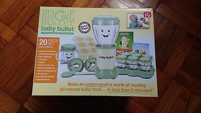 BRAND NEW IN BOX Magic Bullet Baby Bullet Food Making System