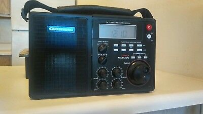 Grundig S450DLX Portable FM SHORTWAVE Receiver FIELD RADIO SW World Multi Band