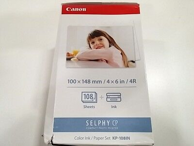 Canon KP-108IN Ink/Paper Set