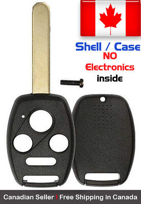 1x New Replacement Keyless Remote Control Key Fob Shell / Case Honda Accord
