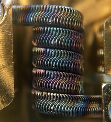 2x 12ply N90/SS Interlocking Framed Staple Alien Coils +Free Coils (Nichrome