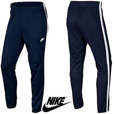 a6f1d0f6750b Nike Mens Skinny Tribute Track Bottoms Trousers Sports Sweat Jogging Pants  Black