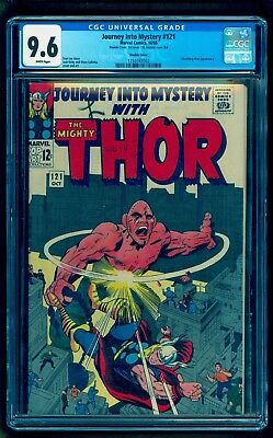 Journey Into Mystery 121 Cgc 9.6 Double Cover * White * 1965 Thor * 1 Of 1