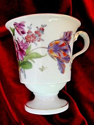 Antique Meissen Hand Painted Cup