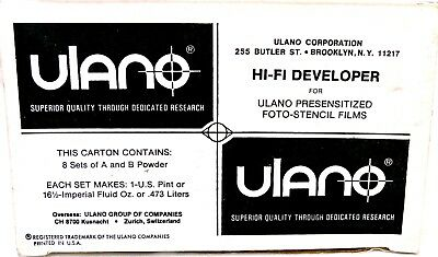 Box of Ulano H-Fi Developer Powder