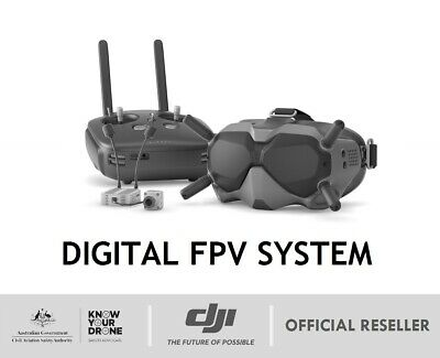 DJI Digital FPV System - Experience / Fly More Combo   Racing Goggles   Remote
