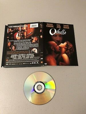 Othello (snap case DVD) Rare OOP 1995 Laurence Fishburne Irene Jacob Version 90s