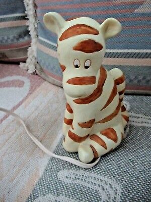 Tigger - Winnie the Pooh Table Lamp AND Night Light - Disney Productions