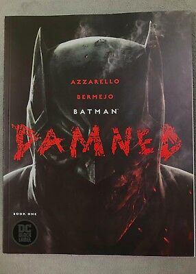 Batman Damned #1, DC Black Label, Uncensored 1st Print...Pristine Condition