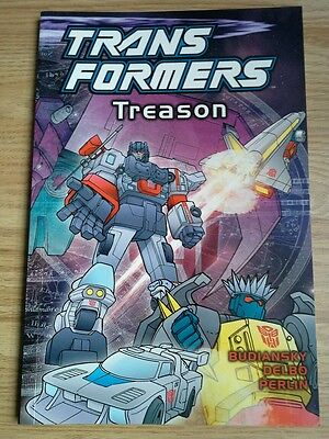 Transformers Treason (2004) graphic novel G1 volume 6 TItan Books