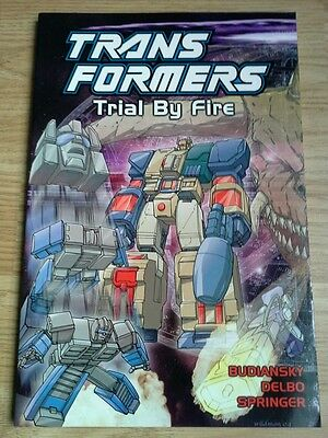Transformers Trial By Fire (2004) graphic novel G1 volume 7 TItan Books