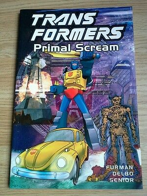 Transformers Primal Scream (2002) graphic novel G1 volume 11 TItan Books