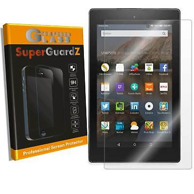 2-PACK Amazon Fire HD 8 (2017, 2018) SuperGuardZ Tempered Glass Screen Protector