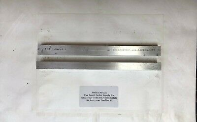 "2 Pieces 3/4"" X 1"" ALUMINUM 6061 FLAT BAR 12"" long"