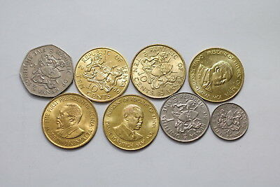 Kenya Currency Coin Lot Many High Grade A98 Xi46