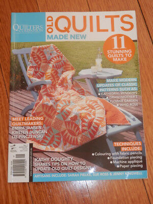 Australian Quilters Companion Magazine Volume 1. pattern pages in tact.