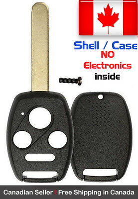 1 New Replacement Remote Key Fob Shell / Case For Honda Accord Pilot KR55WK49308