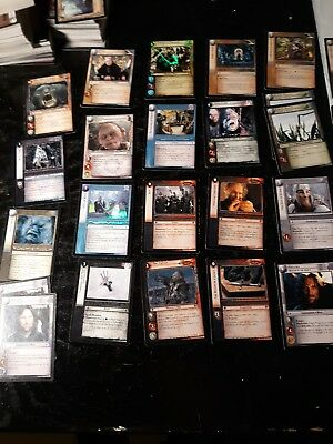 Lord Of The Rings TCG 450 Cards Foils Rare Uncommon Common LOTR