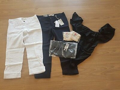 Maternity pack- linen pants, one piece bathers, and underwear- size 10- NWT