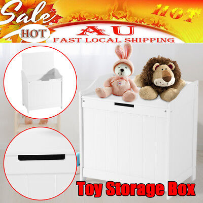 Kids Toy Box Storage Shelf Cabinet Containers Children Clothes Organiser Rack AU