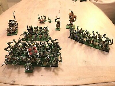 Games Workshop Warhammer AOS Fantasy Orcs & Goblins Army