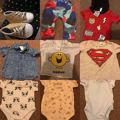 Chose Any 3 Items For $12 Baby Clothes 000-00 Boys/girls/unisex/gender Nuetral