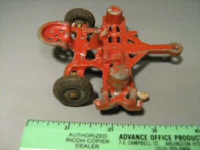 Vintage Antique Silk Toy Corn Planter Farm Tractor Implement For Parts or Repair