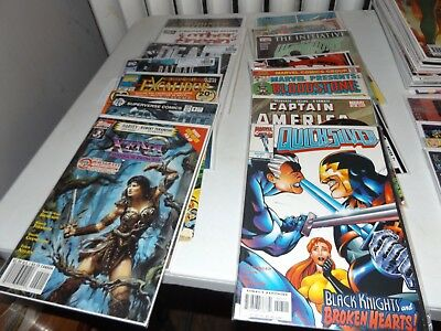 150+ Random Comic book lot Marvel,DC, and Indies 1960's-Modern read description