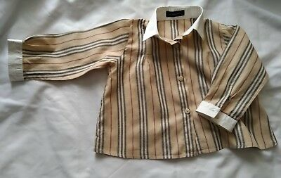 Baby Girls  Burberry Shirt Blouse size 2 years - Authentic
