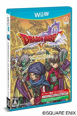 UsedGame Wii U DRAGON QUEST X ONLINE VERSION3 Dragon lore of ancient Japan