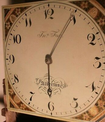 Beautiful antique longcase grandfather clock