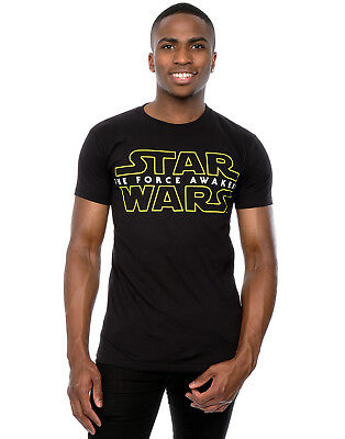 Star Wars Herren Force Awakens Logo T-Shirt
