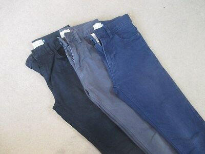 """3 pairs of Next boys / mens trousers 26"""" waist skinny jeans"""
