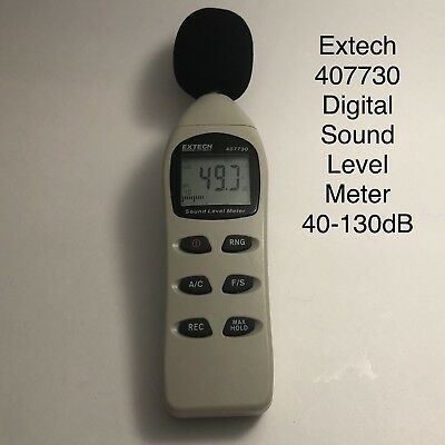 Extech 407730 Digital Sound Level Meter 40-130dB  NEW OTHER