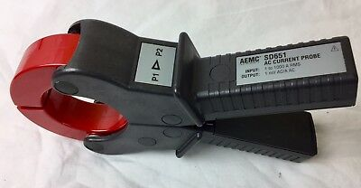 AEMC SD651 AC CLAMP PROBE 1000A  OUTPUT : 1mv/A