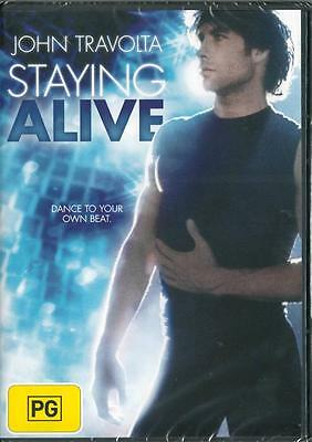 Staying Alive - John Travolta - New Region 4 Dvd -  Free Local Post